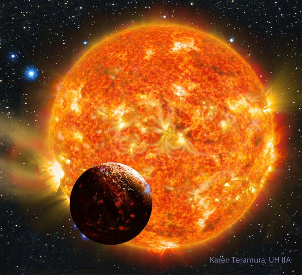 Scientist Find First Earth-Sized Rocky Exoplanet